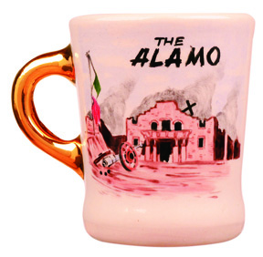 john wayne mug for the alamo
