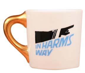 john wayne mug for in harms way