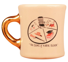 john wayne mug for the sons of katie elder