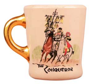 John Wayne mug for the conqueror