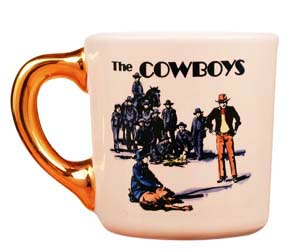 john wayne mug for the cowboys