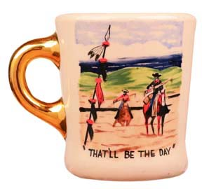 John Wayne mug for the searchers