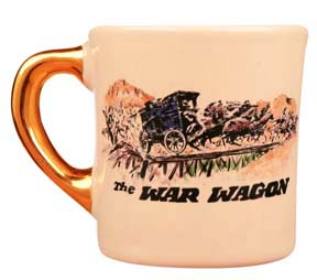 john wayne mug for the war wagon