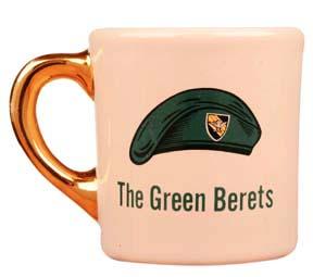 john wayne mug for the green berets