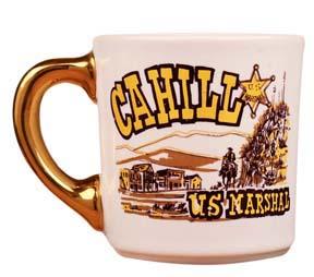 john wayne mug for cahill us marshall