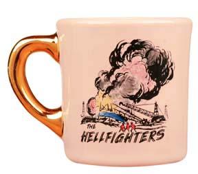 john wayne mug for the hellfighters