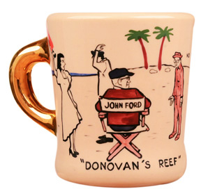 john wayne mug for donovan's reef