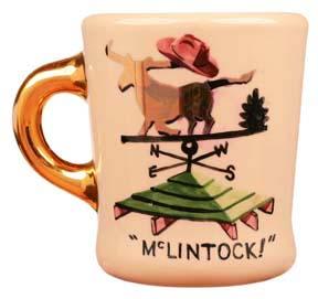 john wayne mug for mclintock