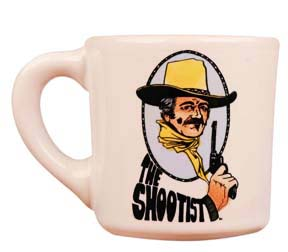 john wayne mug for the shootist